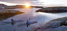 Ben Fogle's 'Great Adventures' - kayaking in Sweden