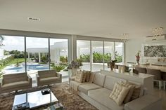 Construindo Minha Casa Clean: Casa com Fachada, Piscinas e Interior Moderno – Projetada para Receber!