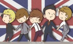 one direction cartoon style