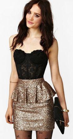 new year skirt