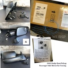 New, aftermarket replacement door mirror for 2002 Dodge Ram Pickup. We ship across Canada. Call 1-888-559-AHON for inquires. #new #aftermarket #bodyparts #ahonautoparts #toronto #autoparts #shipping #acrosscanada