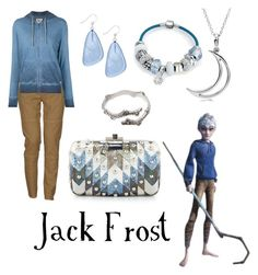"""Jack Frost from Rise of the Guardians"" by krusi611 ❤ liked on Polyvore featuring moda, Massimo Alba, 321, Style & Co., Judith Leiber, Allurez e Bling Jewelry"