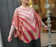 Sew Tessuti Blog - Sewing Tips & Tutorials - New Fabrics, Pattern Reviews: Margaret's Retro Poncho Top