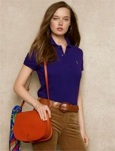 Polo Ralph Lauren Classic-Fit Polo College Blue #Ralph Lauren#Polo