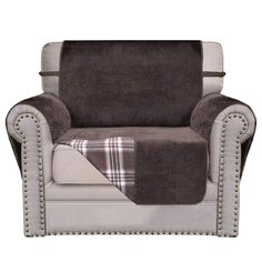 Enjoyable Home Queen Premium Waterproof Couch Slipcover For Leather Bralicious Painted Fabric Chair Ideas Braliciousco