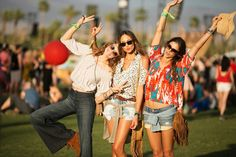 50+ outfits you could ONLY find at Coachella. Photos by Mark Iantosca