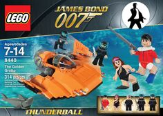 I always wanted to see James Bond Lego sets, although it'll never happen. So I wanted to make some of my own. I had a lot of fun putting these together. Lego Tv, Best Lego Sets, James Bond Movies, Lego Worlds, Cool Lego Creations, Lego Design, Lego Super Heroes, Legoland, Toys