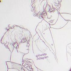 Doodling yongguk✏🌃  GN💤😴  #sketch #art #illustration #artwork #egypt #kpop #idol #yongguk #doodle #wella_lolo #love #instagram #anime #animation #instapic #한국 #방용국 #스케치 #미술 #와 #예쁜. #كلنا_رسامين #الرسامون_العرب #رسم #كيبوب #korea #tumblr #pinterest #twitter #singer