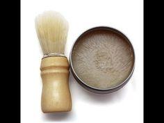Hacer jabón de afeitado|Hacer jabón