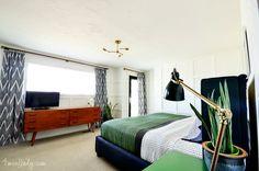 Master Bedroom Reveal. - 4 Men 1 Lady