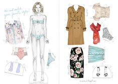 paper_doll and clothings