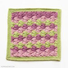 Marvelous Meadow Crochet Granny Square
