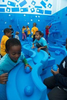 National Building Museum's Building Zone. (Kids 2-6)