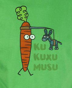 Zanahoria persiguiendo a burro