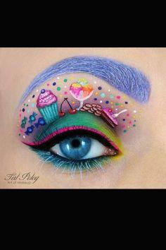 Cupcake Augen-Make-up