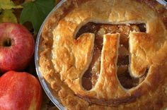 Nerd Pi(e)! #apple #pie #pi