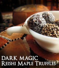 Mythical Mushrooms & Dark Magic Reishi Tuffles