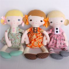 A bit of whimsy doll pattern. This so makes me want to learn to sew.