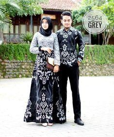 Modern Hijab Fashion, Batik Fashion, Islamic Fashion, Abaya Fashion, Kebaya Modern Dress, Kebaya Dress, Blouse Batik, Batik Dress, Batik Muslim