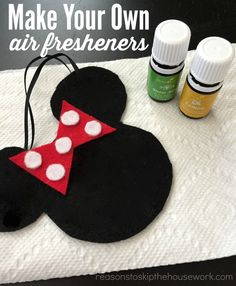 DIY Air Fresheners are simple to make and easy to refresh when the scent runs out! #essentialoils