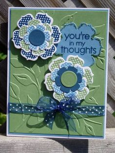 #102    Beautiful Blooms Color Throwdown by ladybugg61 - Cards and Paper Crafts at Splitcoaststampers