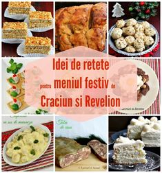 Retete pentru un meniu festiv de Craciun si Revelion