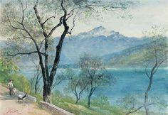 In the Italian lakes by John MacWhirter