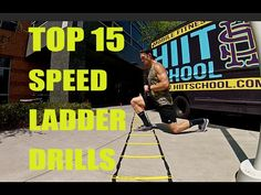 Speed Ladder | 15 Drills for Speed, Quickness, Agility | HIIT School