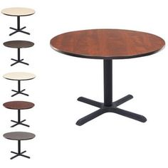 Shop for Regency Lunchroom 36-inch Round Table. Get free delivery at Overstock.com - Your Online Office Furniture Store! Get 5% in rewards with Club O! - 13814313