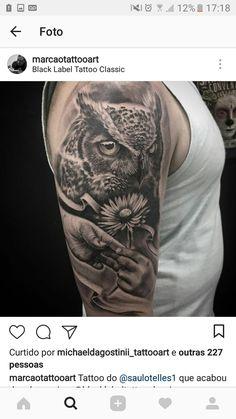 Owl, Portrait, Tattoos, Drawings, Design, Pictures, Tatuajes, Headshot Photography, Owls