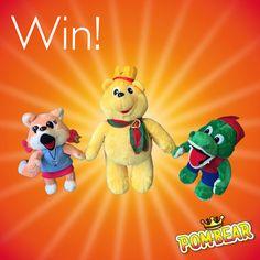 Mama Mummy Mum: Pom-Bear Plush Toy Giveaway