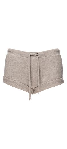 Chaser Love Knit Drawstring Waist Rolled Hem Shorts in Heather Grey / Manage Products / Catalog / Magento Admin