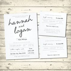Simple Rustic Wedding Invitation, Linen White Wedding Invite, Wedding Invitation Package, LDS Wedding Invite with Inserts, Digital Printable