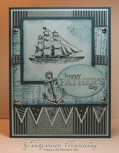 Supplies: Cardstock - Bashful Blue, Midnight Muse Ink - Midnight Muse Stamps - Open Sea, Delightful Dozen Accessories -Silver Brads, Square Punches, 2012-14 In Color DSP, Midnight Muse Ribbon