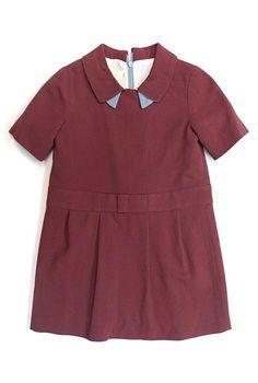 Max & Lola Pink Collar Dress 4