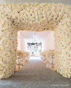 Incredible entrance to a wedding ceremony #idea from Karen Tran