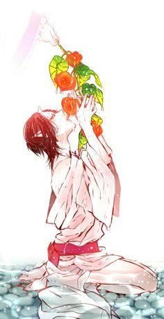 Natsume Yuujinchou, Kuroko No Basket, Touken Ranbu, Fujoshi, Love Art, Beautiful Creatures, Little Boys, Anime Guys, Haikyuu