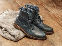 REHAB Carl Vintage Indigo #rehabfootwear #classiccollection #vintage #trendy #stylish #indigo #menshoes