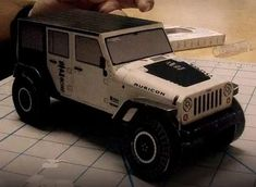 Jeep Wrangler Rubicon Free Vehicle Paper Model Download