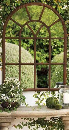 idee exterieur miroir de jardin deco paysagiste