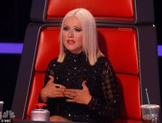 (more serious post) who is LOVING that Christina is going modest this season on The Voice?!?! I LOVE her outfit choice for the blind auditions!!
