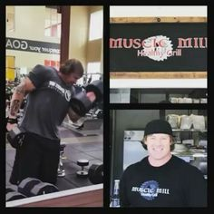 It was great to blast arms with my boy big Dave @warriorswayathletics today. If you need workout gear, try his line. It fits great and will last through whatever you put it through.  @Regrann from @warriorswayathletics -  THIS GUY WORKS WARRIORS!!! HAD A CHANCE TO BLAST OUT AN ARM DAY WITH MIKE...OWNER AND FOUNDER OF @musclemillsd A HEALTHY RESTAURANT AND MEAL PREP LOCATION HERE IN SO CAL..I CAN'T EVEN TELL YOU HOW MANY REPS OR SETS...ALL I CAN SAY IS..SORE IS GOOD!!! KEEP AN EYE ON HIS…