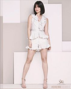Plains and Prints Creme Series Anne Curtis Smith, Strappy Sandals, Rompers, Casual Chic, Prints, Key, Dresses, Fashion, Casual Dressy