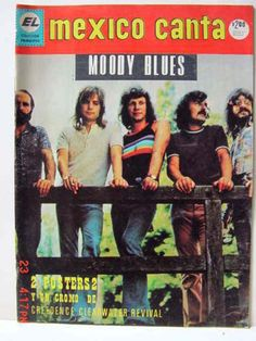 Moody Blues magazine and newspaper covers in Bibliography Forum
