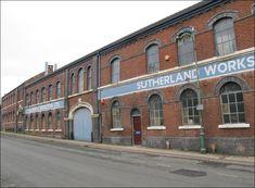 Sutherland Works in Longton, home of Hudson & Middleton China
