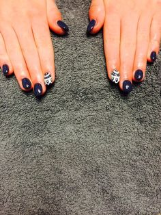 Petrol blue + boho lace Tia Dartnell's nail creations! our nail technician here at Faith hair and beauty. ❤️
