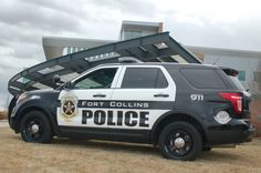 New Fort Collins Police Car