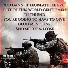 2 things protect our freedom: the Second Amendment and a military composed of the best of the best.