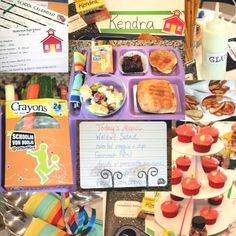 Back to School for the big girls luncheon for moms or cute ideas for a Back to School Party with the kids.