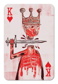 Next tattoo on right side of torso to match my King of Diamonds.